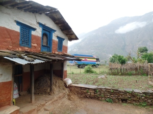 View from the village.