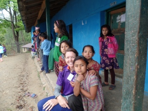 These kids were so friendly and inquisitive.