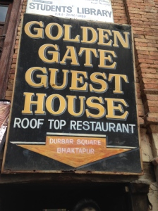 Our hotel/hostel in Bhaktapur.