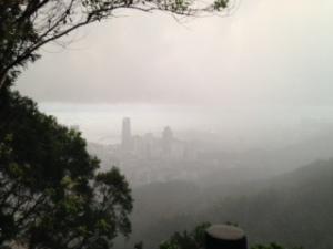 Rain over Shekou.